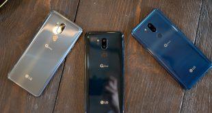 مقارنة بين LG G7 و LG V30 و LG V35 ThinQ