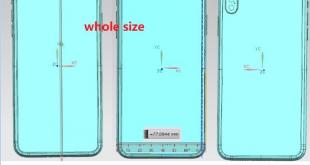 صور iPhone X Plus توضح أبعاده وكيف سيكون شكله من جميع الزوايا